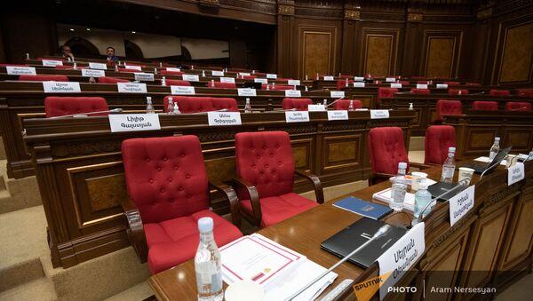Заседание Парламента (4 августа 2021). Еревaн - Sputnik Армения