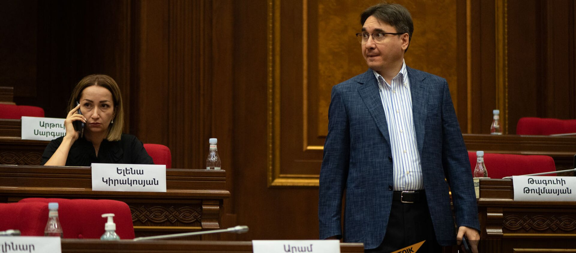 Армен Геворгян на заседании Парламента (4 августа 2021). Еревaн - Sputnik Արմենիա, 1920, 10.08.2021