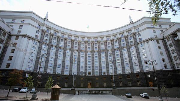 Здание кабинета министров Украины в Киеве - Sputnik Արմենիա