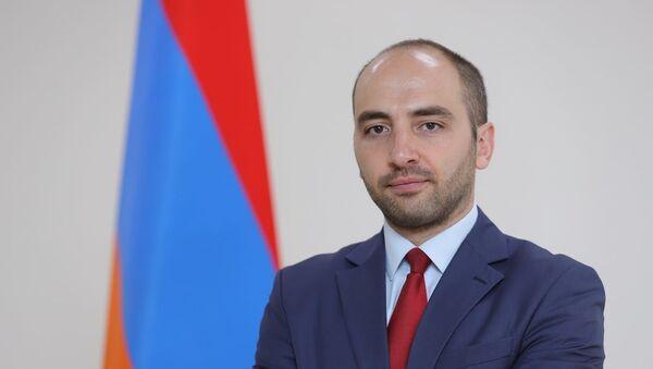 Новоназначенный пресс-секретарь МИД Ваан Унанян - Sputnik Армения