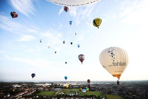 Օդապարիկներ, Bristol International Balloon Fiesta - Sputnik Արմենիա