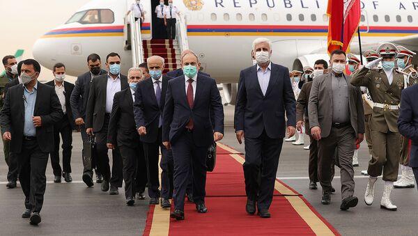 Рабочий визит премьер-министра Армении Никола Пашиняна в Иран (5 августа 2021). Тегеран - Sputnik Армения