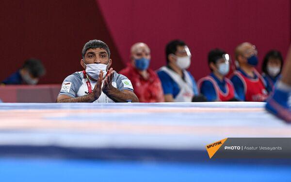 Վազգեն Թևանյանի մարզիչը - Sputnik Արմենիա