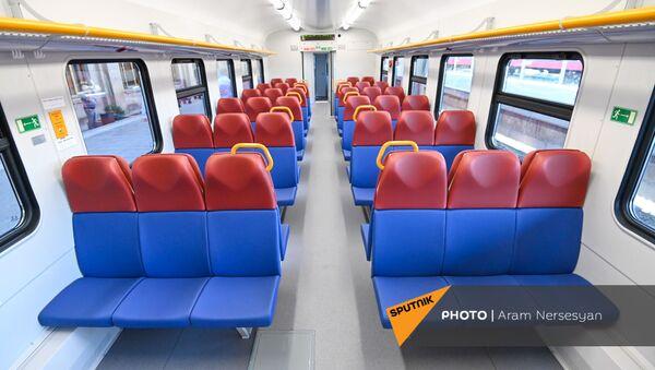 Новый поезд ЮКЖД - Sputnik Արմենիա