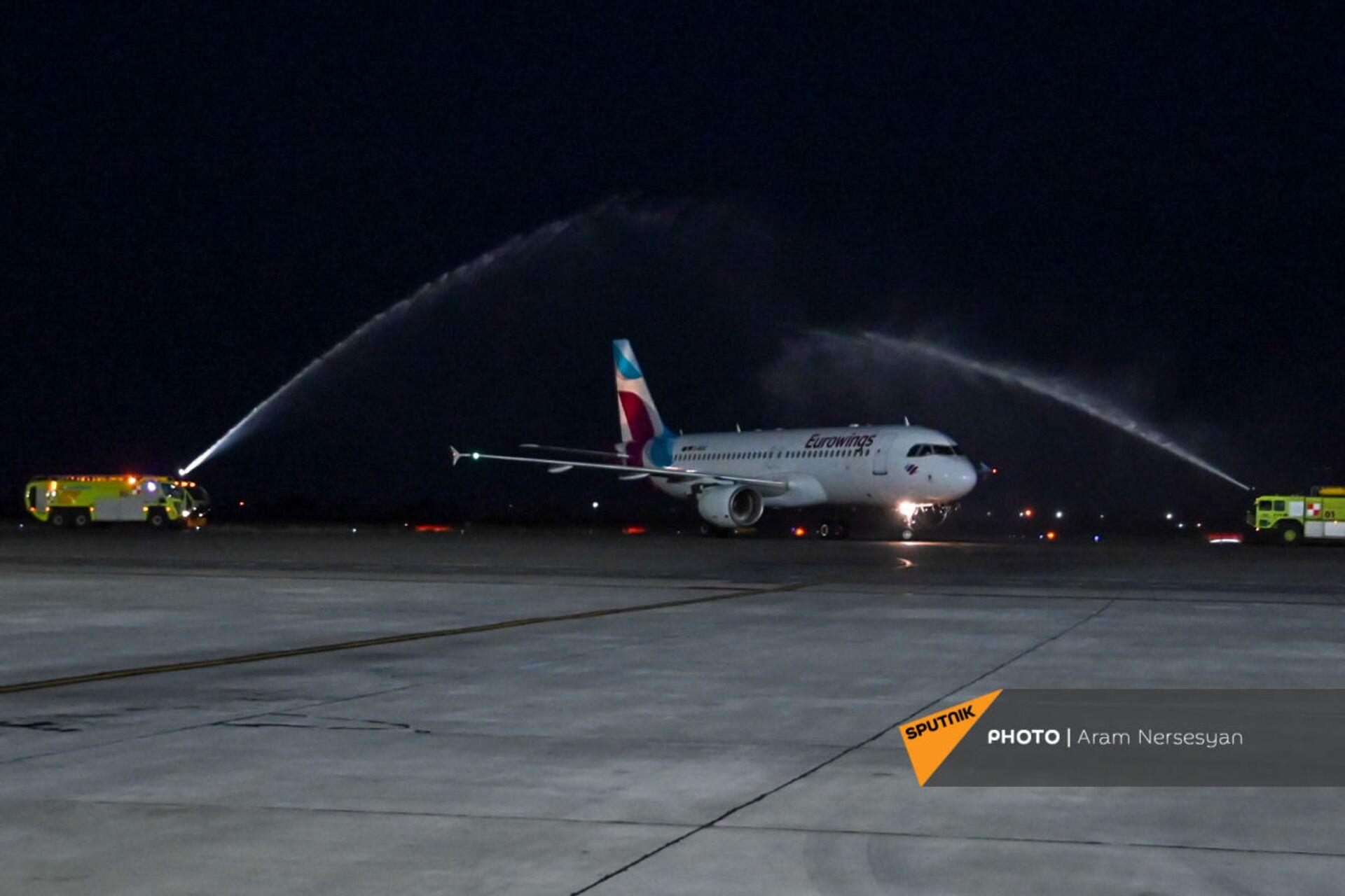 Лоукостер Eurowings запустил полеты из Кельна в Ереван - Sputnik Արմենիա, 1920, 14.09.2021