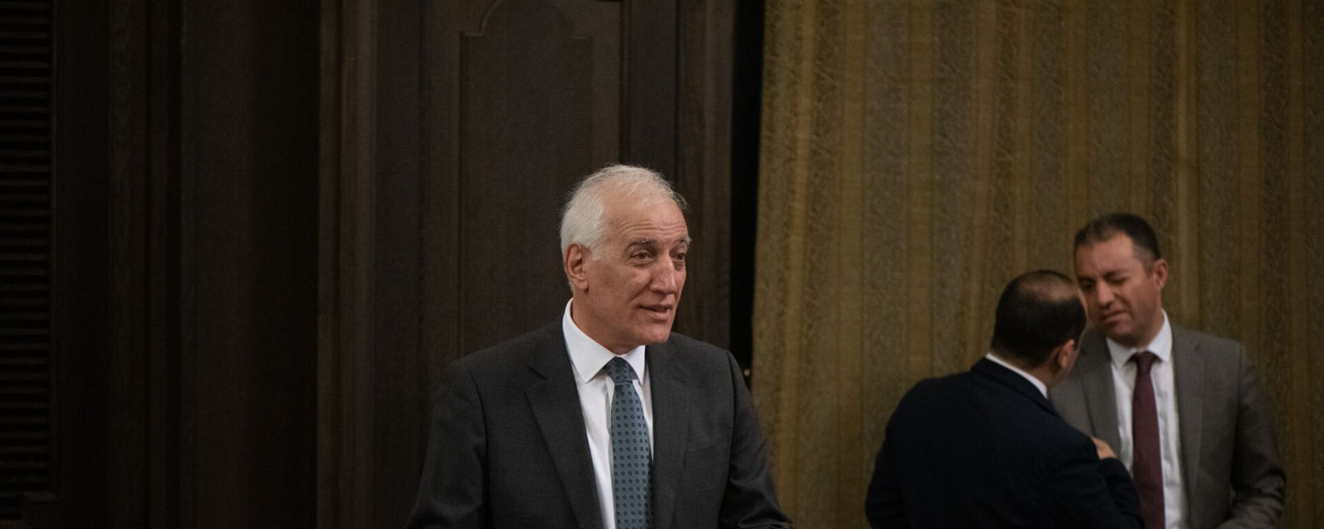 Министр высокотехнологичной промышленности Ваагн Хачатрян на заседании правительства (6 августа 2021). Еревaн - Sputnik Армения, 1920, 15.09.2021