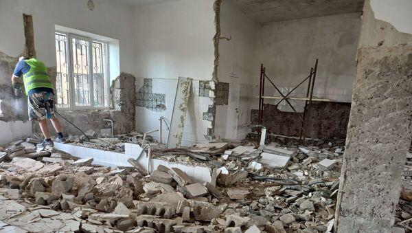 Работы по капитальной реконструкции в Центре психического здоровья - Sputnik Արմենիա