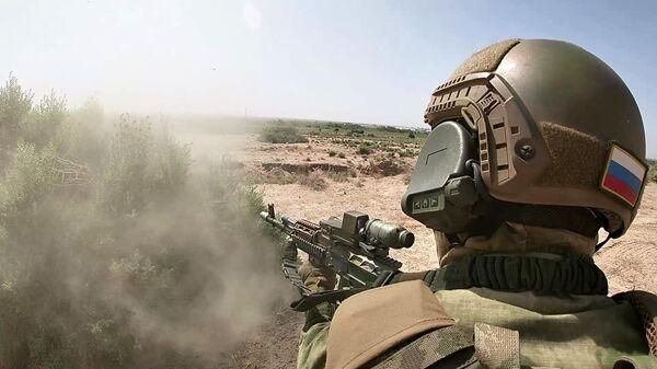 Учения спецназа России и Узбекистана на полигоне Термез - Sputnik Армения