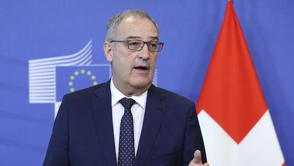 Президент Швейцарии Ги Пармелин - Sputnik Արմենիա