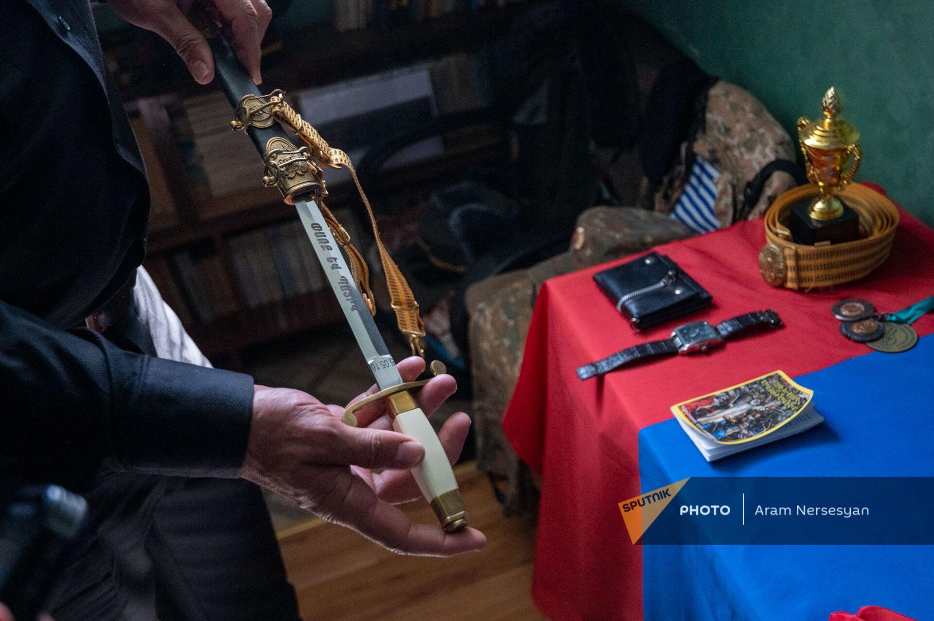 Клинок погибшего Абрахама Марухяна  - Sputnik Արմենիա, 1920, 14.09.2021