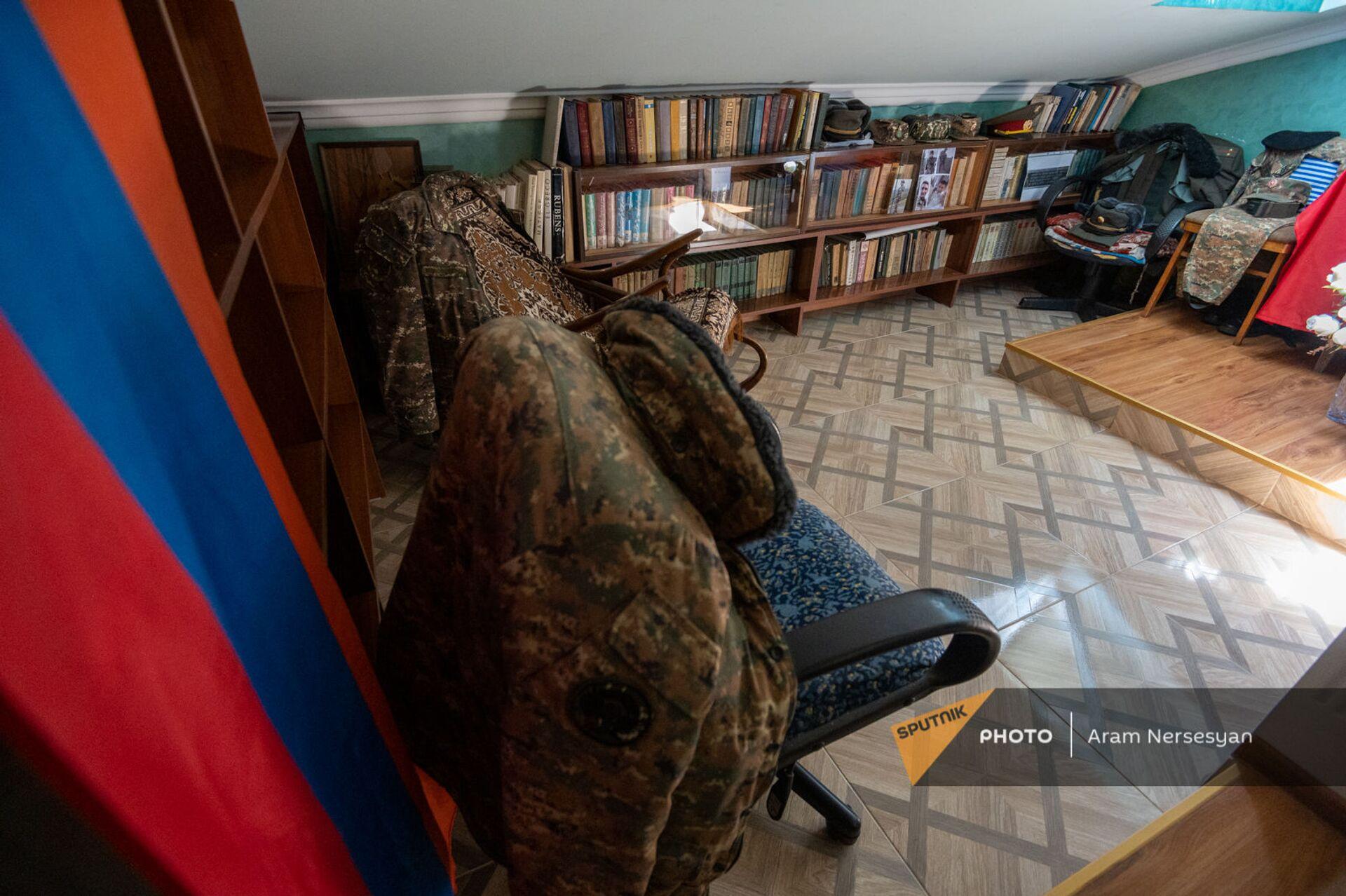 Комната погибшего Абрахама Марухяна  - Sputnik Արմենիա, 1920, 14.09.2021