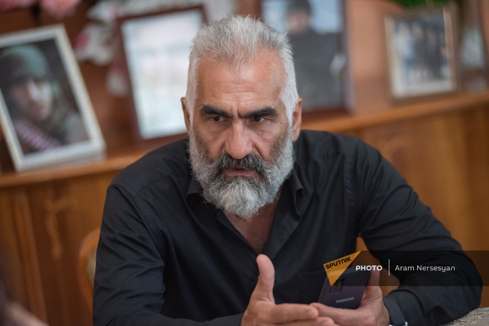 Тигран Марухян, отец погибшего Абрахама Марухяна  - Sputnik Արմենիա, 1920, 14.09.2021
