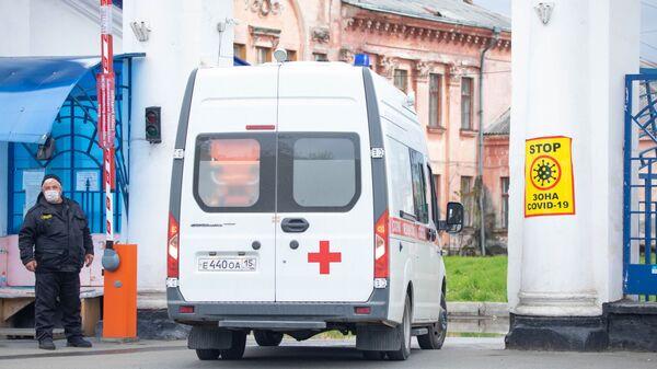 Карета скорой помощи во Владикавказе - Sputnik Армения