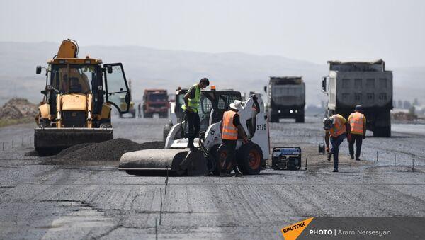 Масштабные строительные работы в аэропорту Ширака - Sputnik Արմենիա
