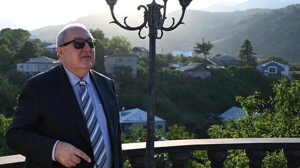 Президент Армен Саркисян на отдыхе - Sputnik Армения