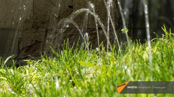 Оросительная система в городском парке - Sputnik Армения