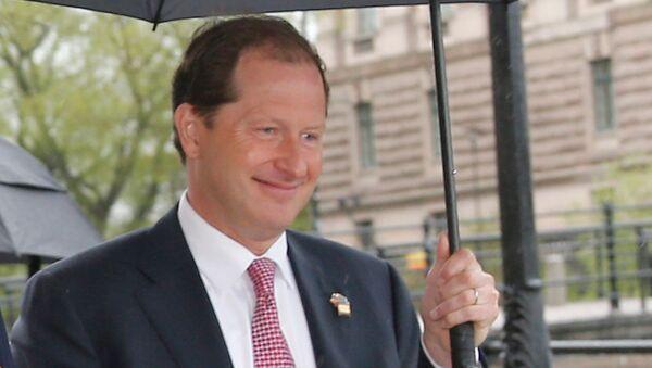 Посол США в Швеции Марк Бжезинский - Sputnik Армения