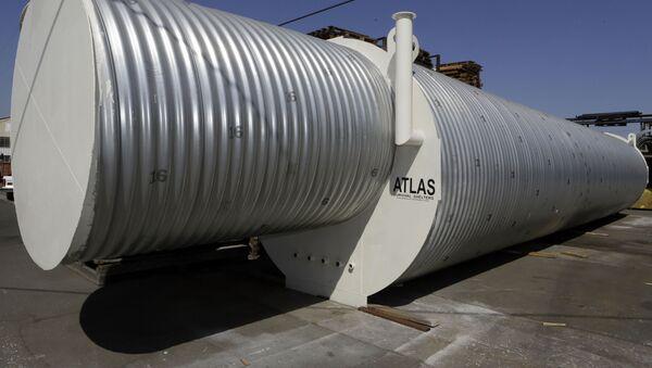 Бомбоубежище американской компании Atlas Survival Shelters в Калифорнии  - Sputnik Армения