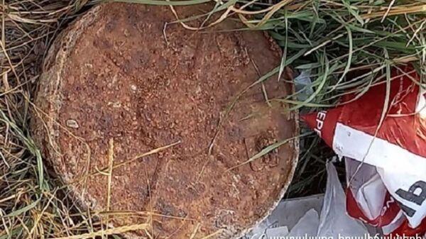 На улице Ачарьяна обнаружена противотанковая мина - Sputnik Արմենիա