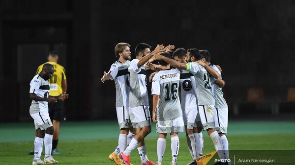 Второй матч квалификационного раунда Лиги Европы между командами Алашкерт и Кайрат (12 августа 2021). Еревaн - Sputnik Армения