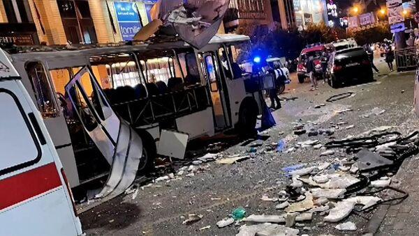 В Воронеже взорвался автобус - Sputnik Армения