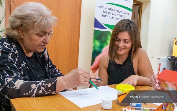 «Տարեցների առողջության և խնամքի ապահովման ասոցիացիա» ՀԿ–ի կենտրոնը Երևանում - Sputnik Արմենիա
