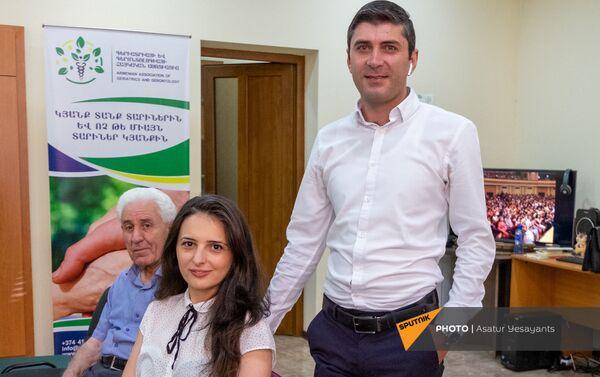 Արթուր Թորսյանն ու Լիլիթ Մուրադյանը - Sputnik Արմենիա
