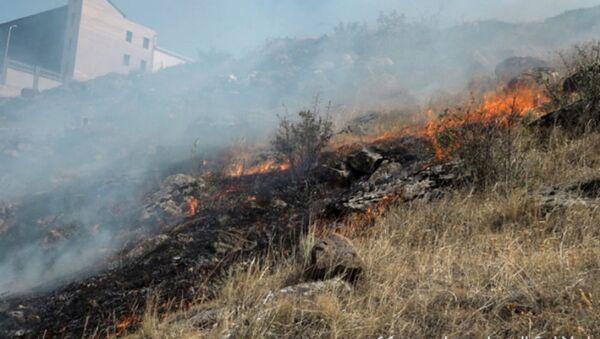Пожар в окрестностях радиовышки - Sputnik Армения