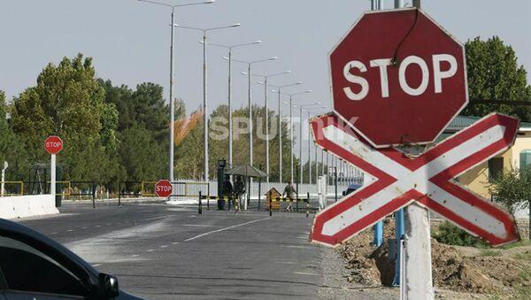 КПП на афгано-узбекской границе - Sputnik Армения