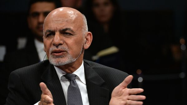 Президент Афганистана Мохаммад Ашраф Гани - Sputnik Արմենիա