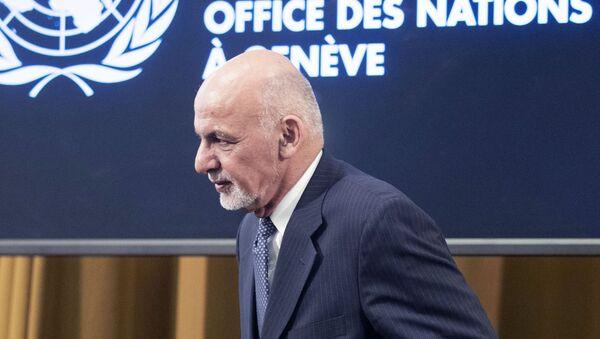 Президент Афганистана Мохаммад Ашраф Гани - Sputnik Армения