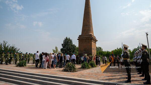 Tоржественное мероприятие в честь годовщины Ошаканской битвы (17 августа 2021). Ошакан - Sputnik Армения