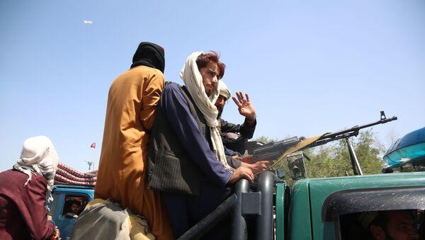 Боевики движения Талибан в Кабуле (16 августа 2021). Афганистан - Sputnik Արմենիա