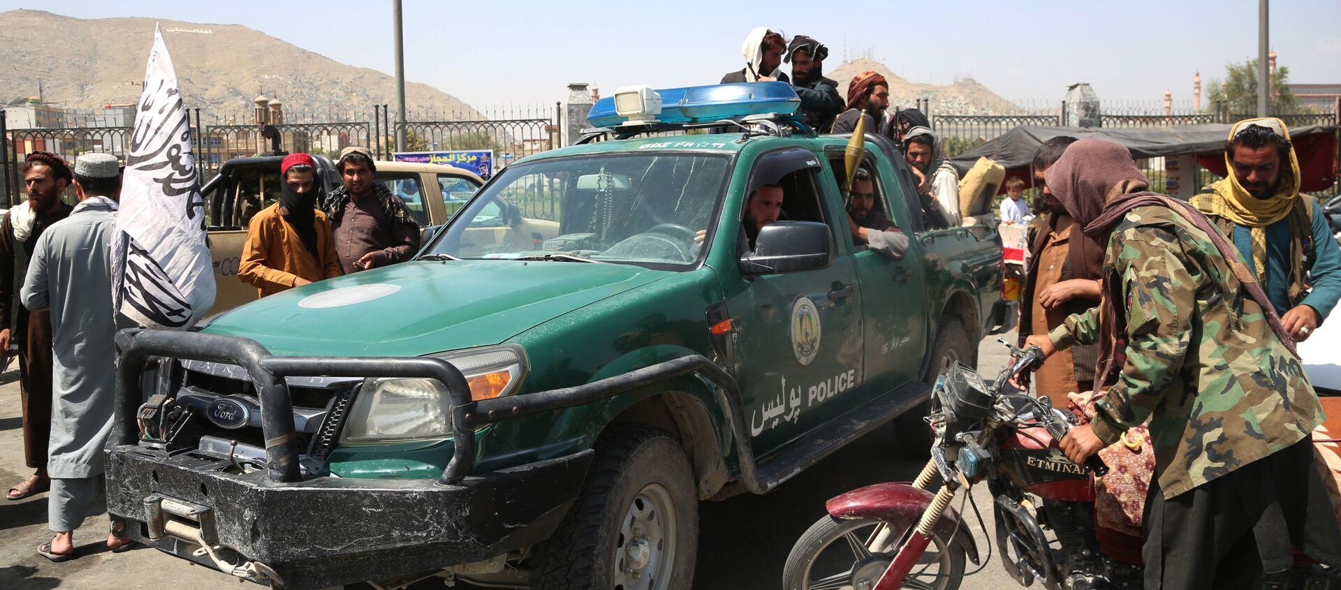 Боевики движения Талибан в Кабуле (16 августа 2021). Афганистан - Sputnik Արմենիա, 1920, 20.08.2021