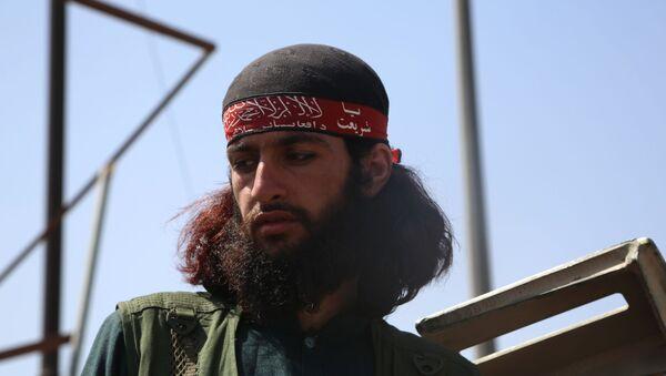 Боевик движения Талибан в Кабуле (16 августа 2021). Афганистан - Sputnik Армения