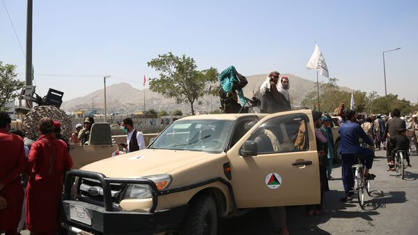 Боевики движения Талибан в Кабуле (16 августа 2021). Афганистан - Sputnik Армения