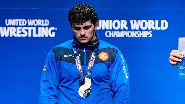 Серебряный призер молодежного чемпионата мира  Лева Геворкян - Sputnik Արմենիա
