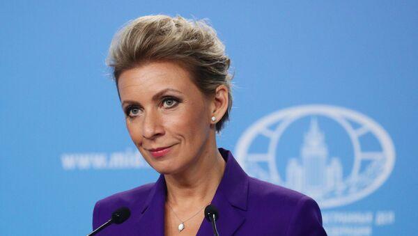Официальный представитель Министерства иностранных дел России Мария Захарова - Sputnik Արմենիա