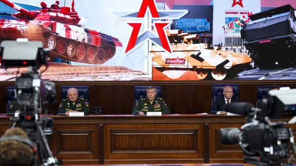 Брифинг Минобороны РФ для иностранных военных атташе в Москве - Sputnik Армения