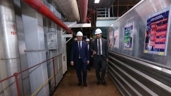 Министр Гнел Саносян посетил армянскую атомную электростанцию - Sputnik Արմենիա