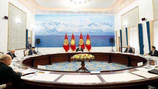 Премьер-министр Армении Никол Пашинян принял участие в заседании межправительственного совета ЕАЭС (20 августа 2021). Бишкек - Sputnik Армения