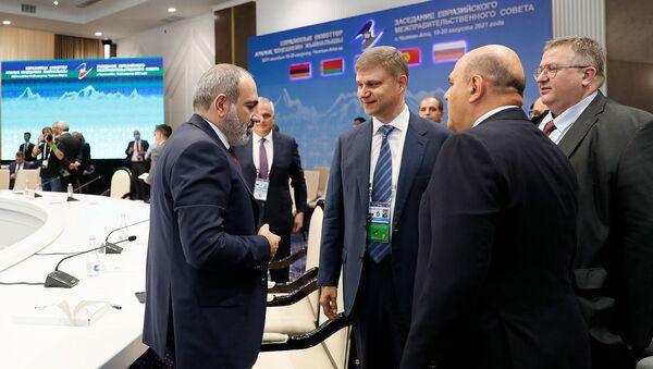 Премьер-министр Армении Никол Пашинян принял участие в заседании межправительственного совета ЕАЭС (20 августа 2021). Бишкек - Sputnik Արմենիա