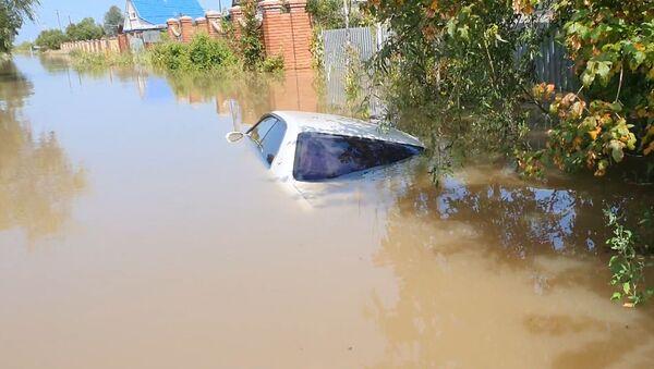 Уровень реки Амур у Хабаровска превысил отметку в 6 метров  - Sputnik Արմենիա
