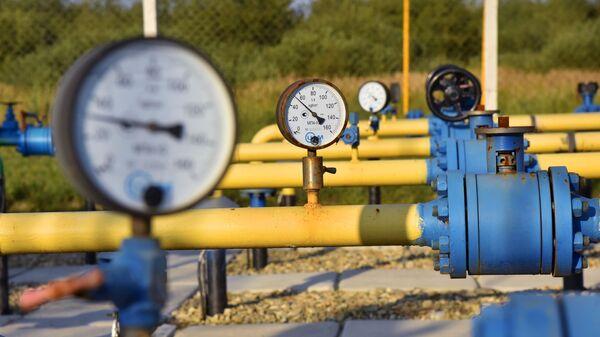 Комплекс подготовки экспортного газа на Украине. - Sputnik Армения