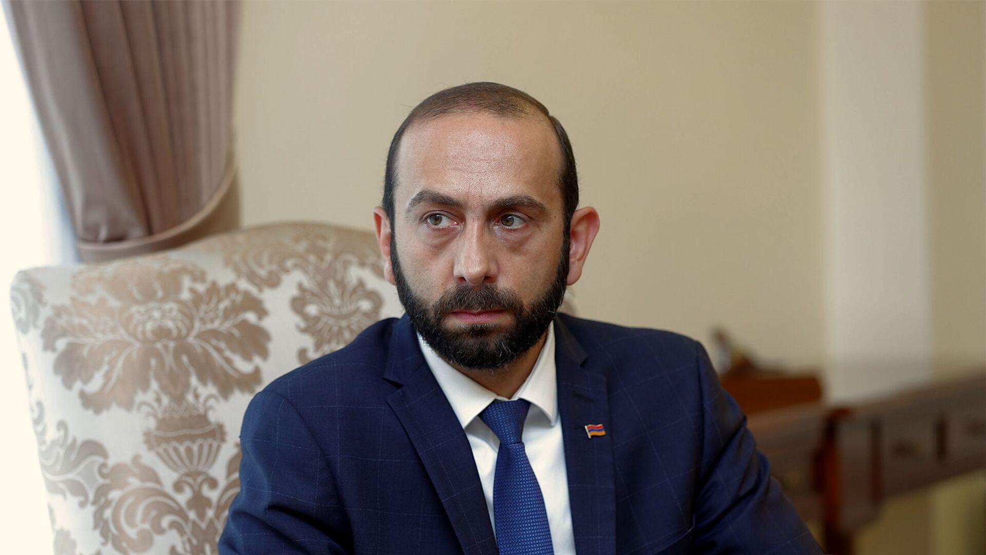 Министр иностранных дел Арарат Мирзоян - Sputnik Արմենիա, 1920, 26.08.2021