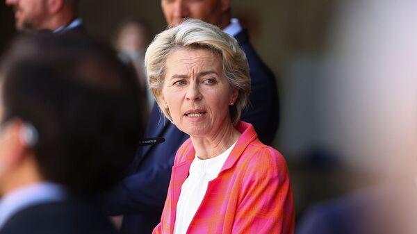 Президент Комиссии ЕС Урсула фон дер Ляйен - Sputnik Армения