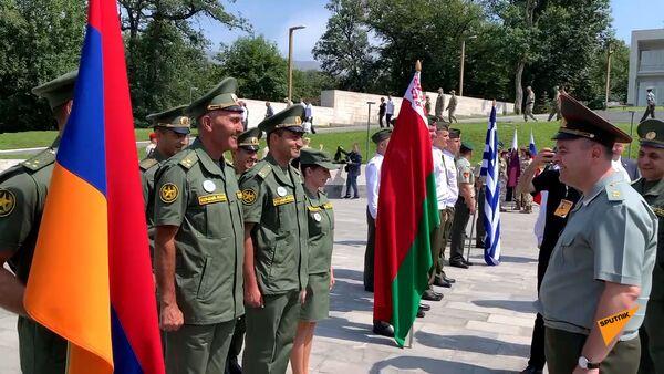 Հայաստանում մեկնարկեցին «Խաղաղության մարտիկ» միջազգային մրցախաղերը - Sputnik Армения