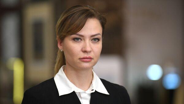 Полномочный представитель ДНР Наталья Никонорова  - Sputnik Армения