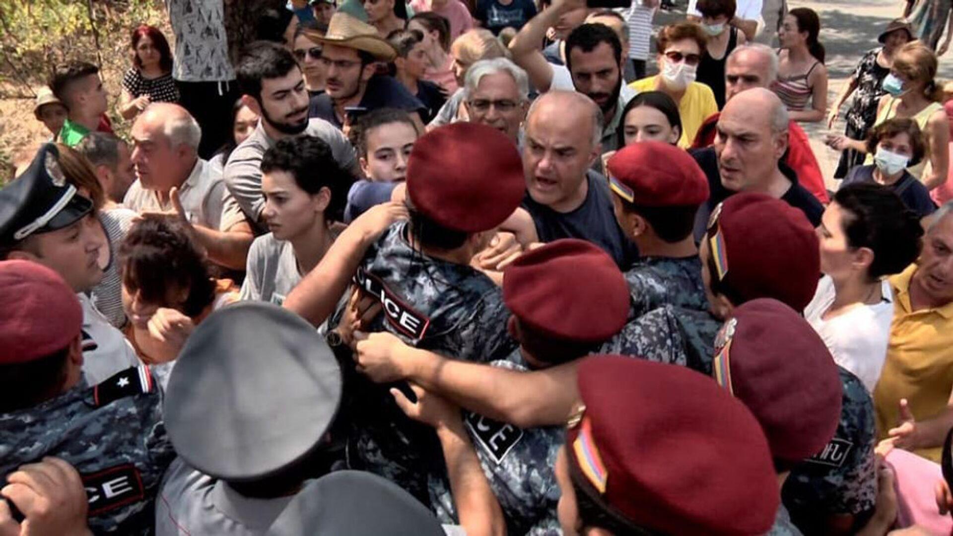 Акция протеста в Физгородке - Sputnik Արմենիա, 1920, 28.08.2021