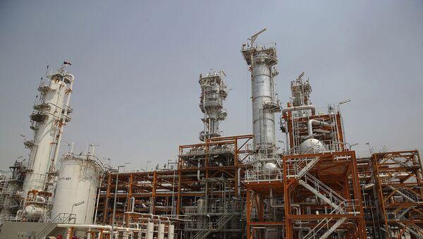 Часть газового месторождения Южный Парс в Иране - Sputnik Армения